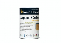 Bionic-House AQUA COLOR - UF protect - Краска для дерева