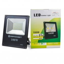 Прожектор EVRO LIGHT EV-100-01 6400K 8000Lm SMD